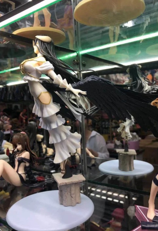 nova japnese anime sobre senhor estatua albedo 02