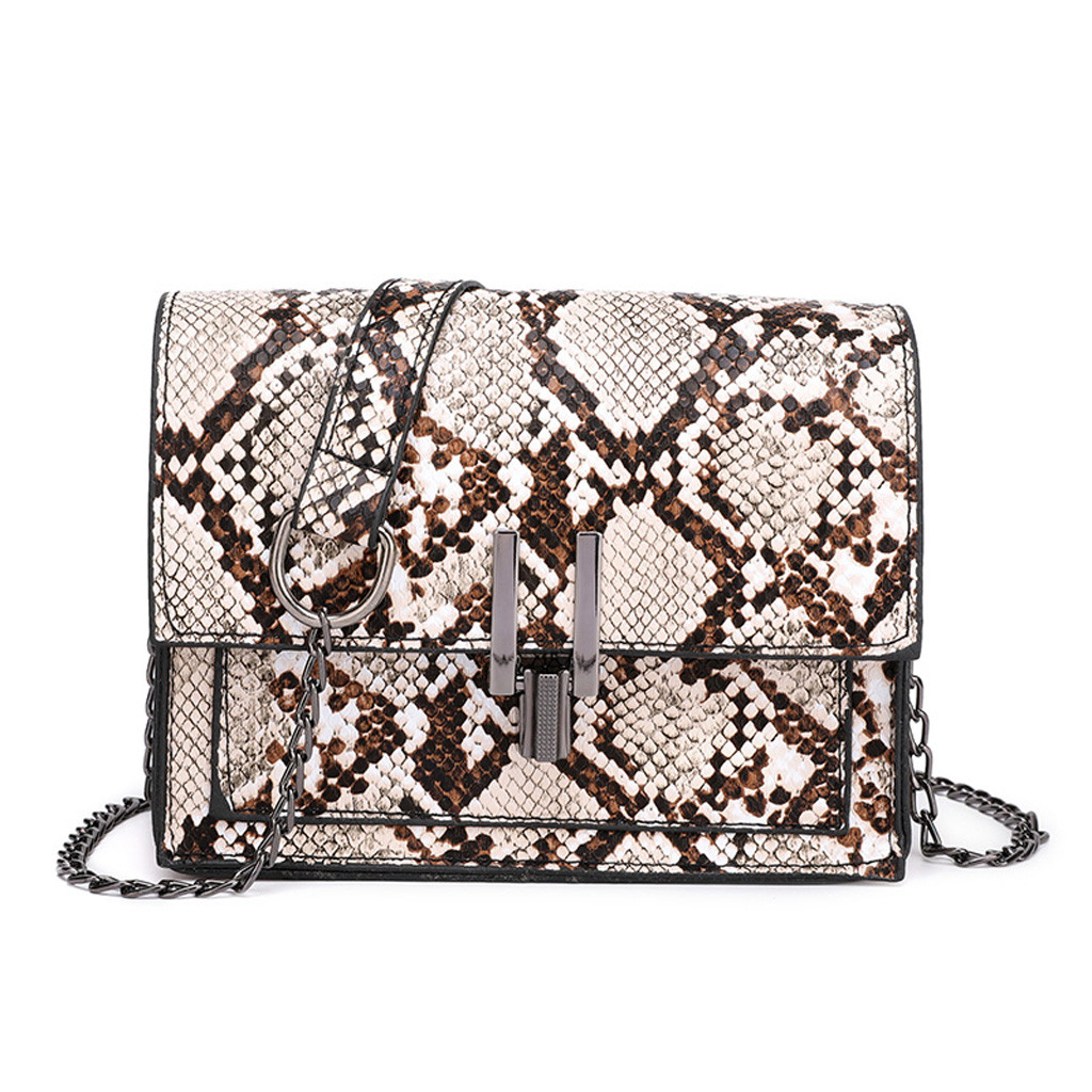 Famous Brand Bags For Women 2019 Ladies Leather Leopard Versatile Chain Shoulder Bag Messenger Bag#T2Famous Brand Bags For Women 2019 Ladies Leather Leopard Versatile Chain Shoulder Bag Messenger Bag#T2