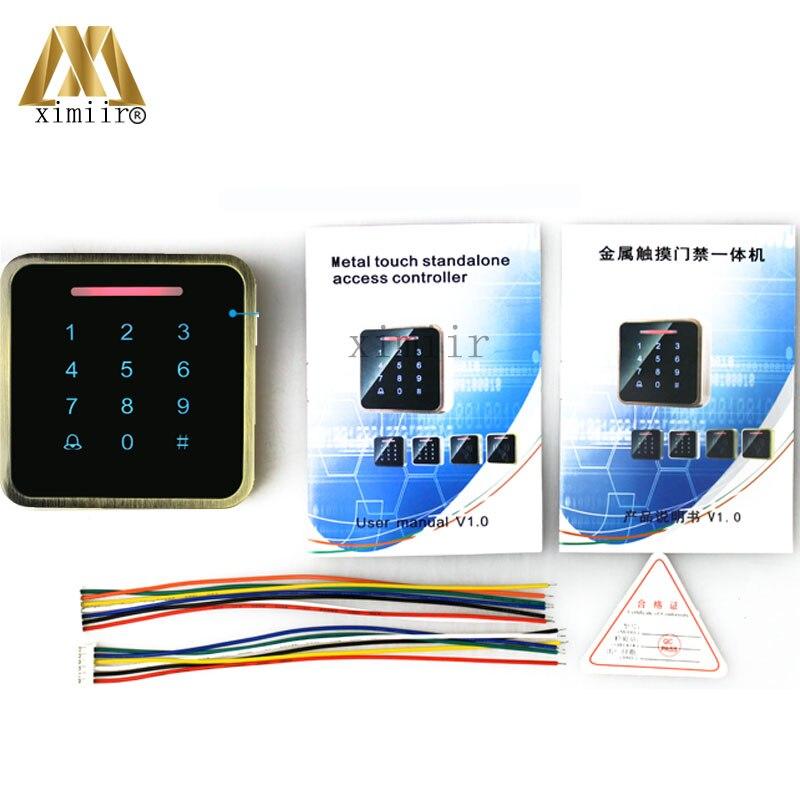 3000 benutzer IC MF Karte Tür Access Controller Standalone Single tür 13,56 MHZ Ic karte Access Control Reader + 10 stücke RFID karte - 6