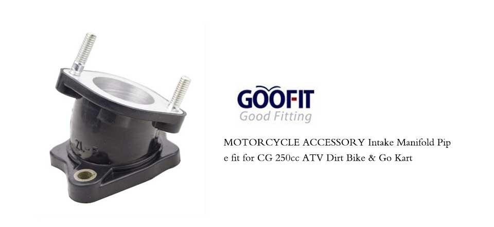 GOOFIT 30 millimetri tubo di aspirazione per CG 200cc 250cc ATV Dirt Bike Go Kart Quad