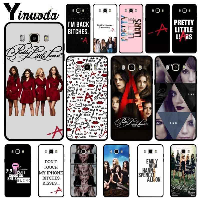 Yinuoda Pretty Little Liars PLL TV แสดงฝาครอบโทรศัพท์นุ่มสำหรับ Samsung Galaxy j6plus j7 prime j8 j2 prime j4plus 2018 funda