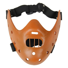 Scary Hannibal Lecter Resin Masks The Silence OF Lambs Halloween Horror Masquerade Cosplay Costume Collection Party Props