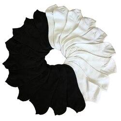 7 пар женских носков, короткие женские короткие носки по щиколотку для женщин, женские белые черные носки, короткие летние носки Chaussette Femme
