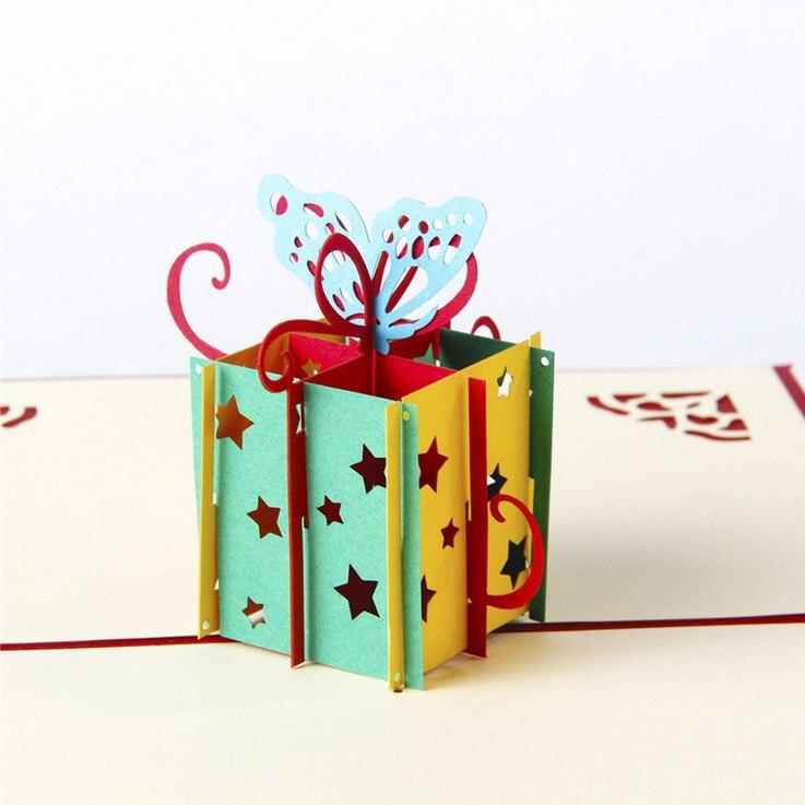 Aliexpress.com : Buy Happy Birthday Gift box & Butterfly