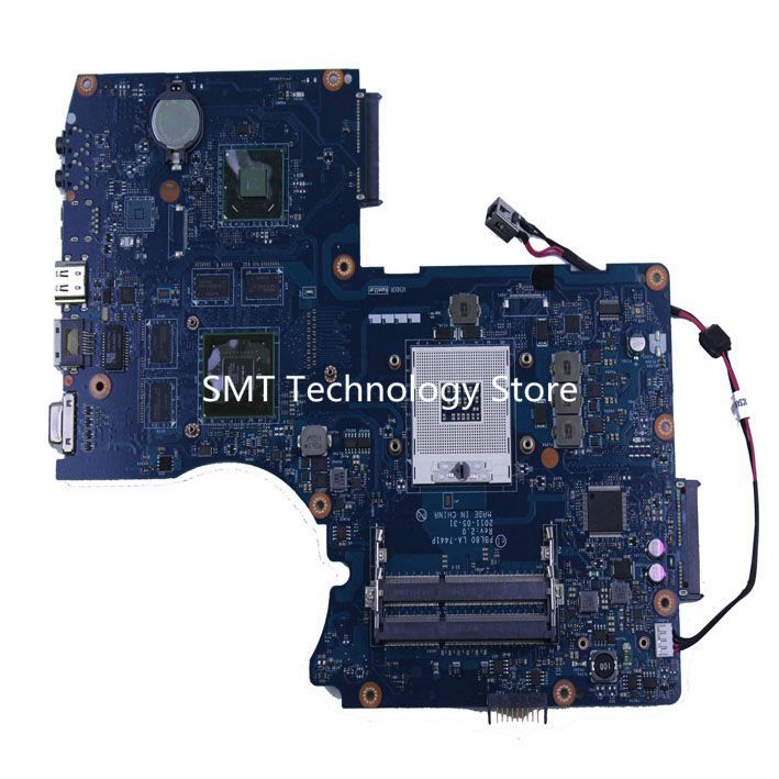 PBL80 LA-7441P REV 2.0 motherboard For Asus K93SV X93SV X93S laptop motherboard mainboard GT540M N12P-GS-A1 tested High quality