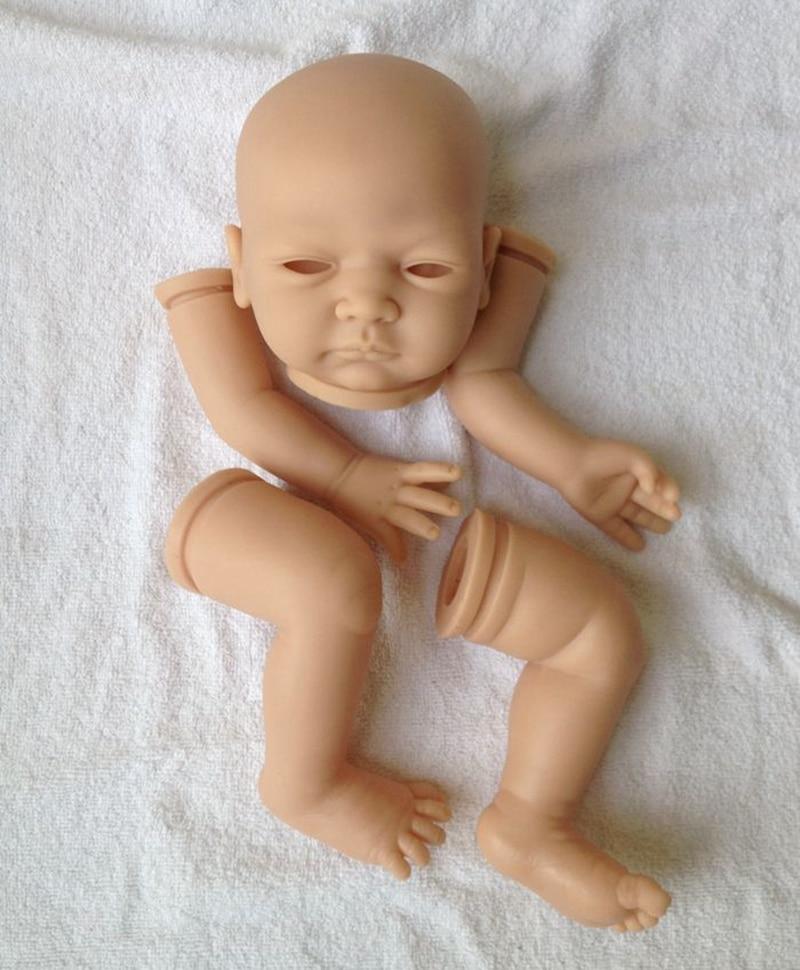 DIY Doll Mold Reborn Doll Kits Blankt Handmade Reborn Doll Finshed Size 20in