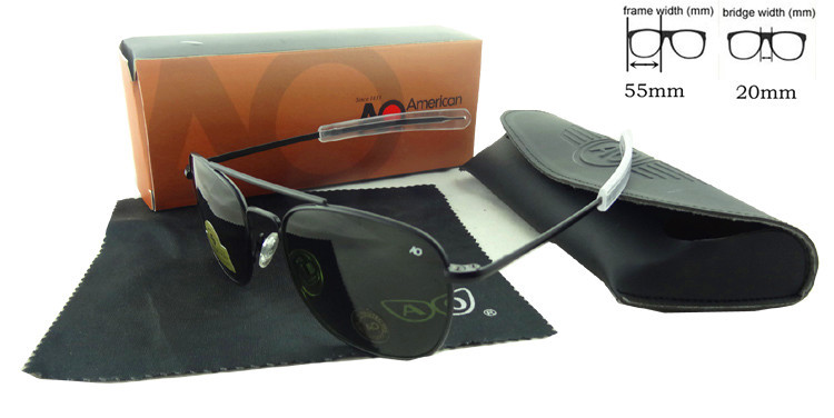 New Arrival USA air force design fashion driving font b pilot b font sunglasses stainless metal