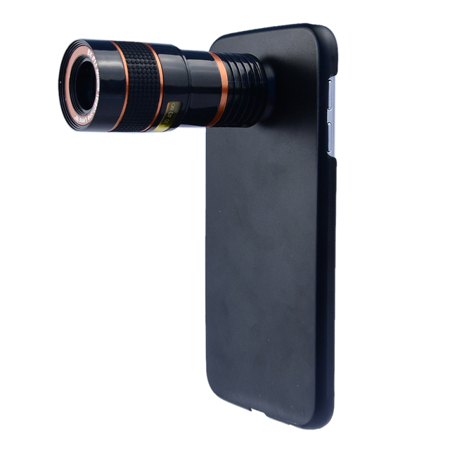 4 in 1 Camera Lens for Samsung Galaxy Note 5 Zoom 8X Telescope Lens+ fish eye Lens + Wide Angle &Macro Lens with Cover CL-19B85