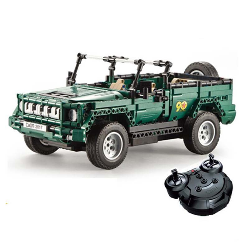561 pièces véhicules militaires Legoings Technic ville blocs de construction briques WW2 armée soldat armes Parade Jeep camion Rc voiture jouets