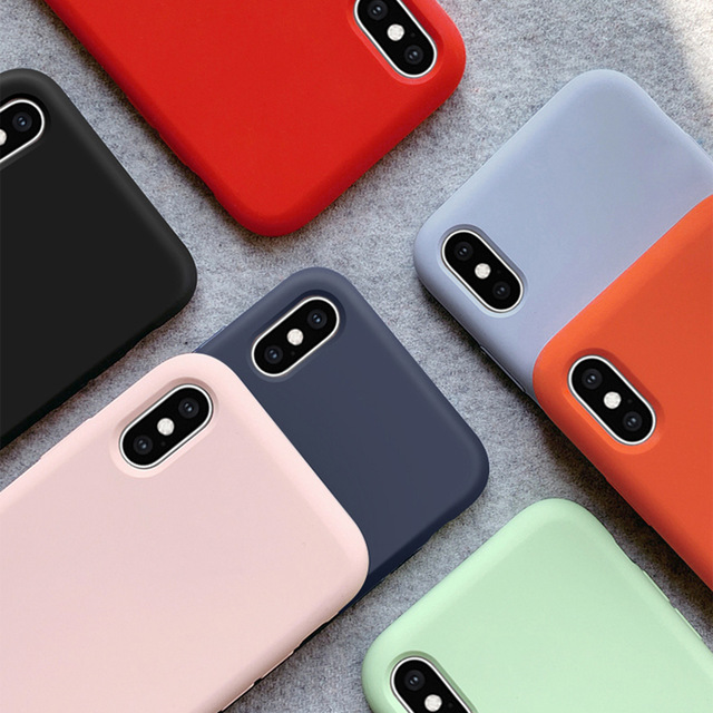 Silicone Case for Apple iPhone 1