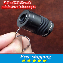 Mini telescope pocket thumb Monocular Telescopes for Outdoor sports Hiking Camping Hunting HD wide-angle vision binoculars
