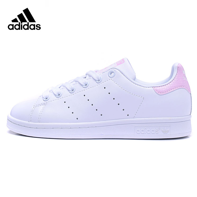 Adidas STAN SMITH Women's Walking Shoes ,Pink & White ,Wear-resistant Lightweight Breathable Shock-absorbing BA9858 кухонная мойка teka centroval mic