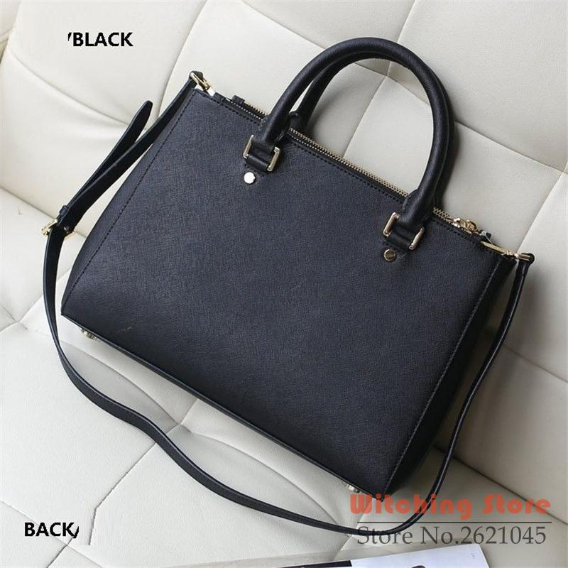 hh Perfect# M fashion handbag direct purchasing of western style cross pattern double zipper shoulder type package killer pack