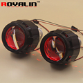 2.5 External Lights Lenses HID H1 Bi Xenon Projector Headlight Lens for H4 H7 Car Styling Motorcycle Retrofit Hi/lo Headlamps