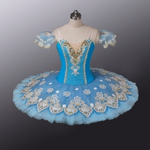 7e007d83bf4ff Professional Ballet Pancake Tutu Adult Blue Tutus 10 Layers Hard Tulles Classical  Blue Bird Costume Girls