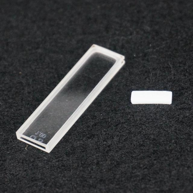 US $23 24 |1mm Path Length JGS1 Quartz Cuvette Cell With Telfon Lid For Uv  Spectrophotometers-in Petri Dish from Office & School Supplies on