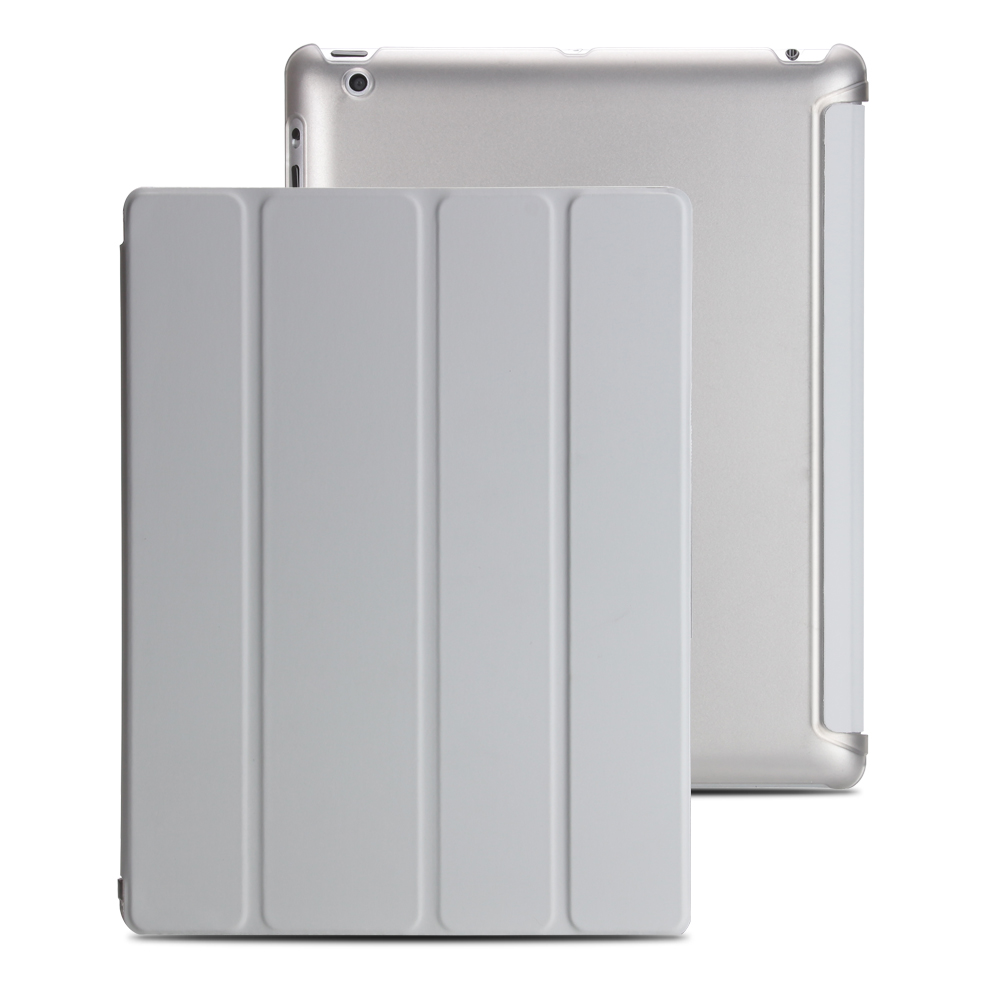 Cover For Ipad 2 3 4 Case, PU Leather Flip Case For Ipad 2, Smart Stand Holder Cover For Ipad 3, Hard PC Back Cover For Ipad 4