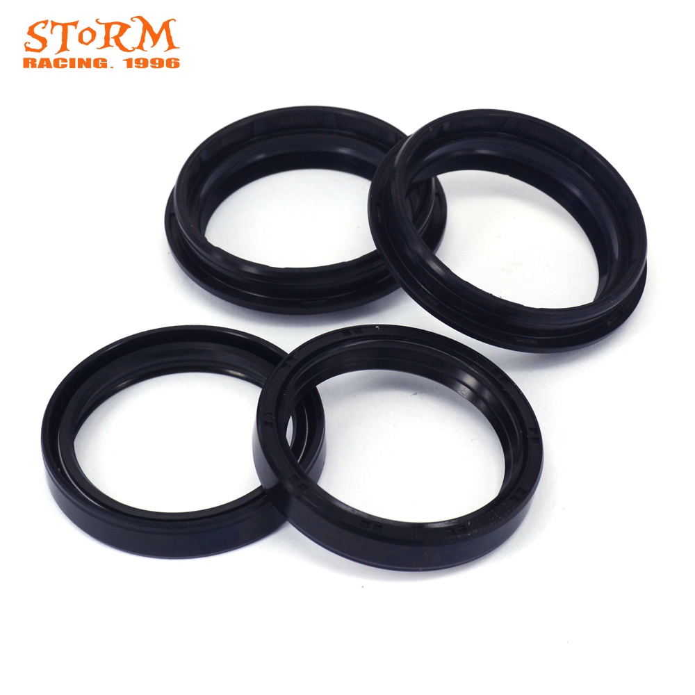 49*60*10 Front Fork Damper Oil Seal Dust seal For SUZUKI RM125 RM250 RM 125 250 1996 1997 1998 1999 2000 DRZ400 DRZ 400 00-09