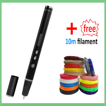 3D printing Pen 1.75mm ABS/PLA DIY LED Screen,USB Charging 3D Printing Pen Filament Creative Toy Gift For Kids Design