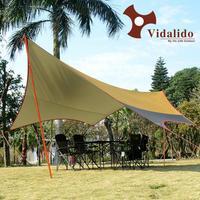 Large Camping Awning Sun Shelter Anti UV Beach Tent Pergola Awning Canopy Tarp Outdoor Fishing Camping Sunshelter 500*470cm
