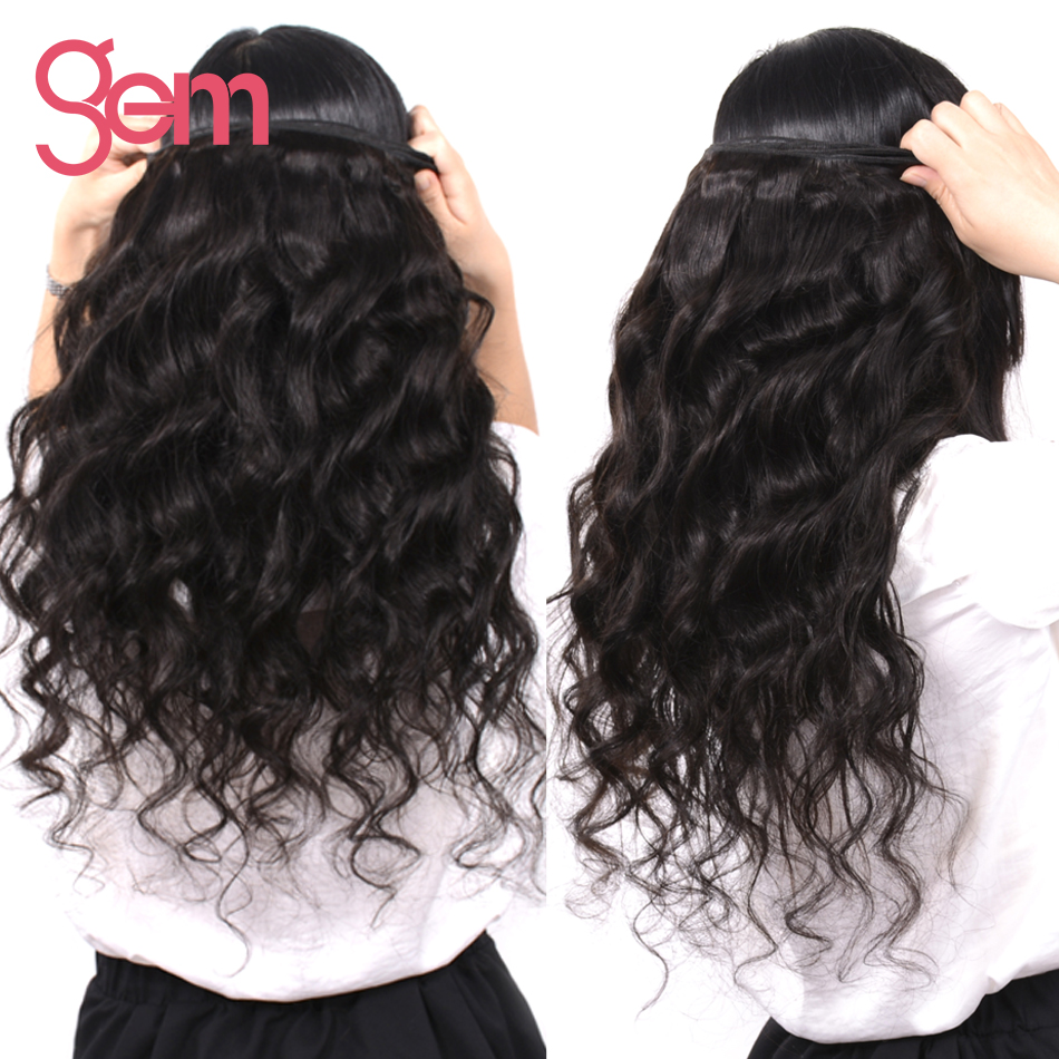 Gem Beauty Supply Brazilian Remy Hair Loose Wave 1 Piece Only 100