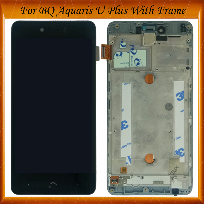 100% Working Well For BQ Aquaris U / U Lite / U plus Lcd Display Touch Screen Digitizer Assembly with frame Replacement Parts100% Working Well For BQ Aquaris U / U Lite / U plus Lcd Display Touch Screen Digitizer Assembly with frame Replacement Parts