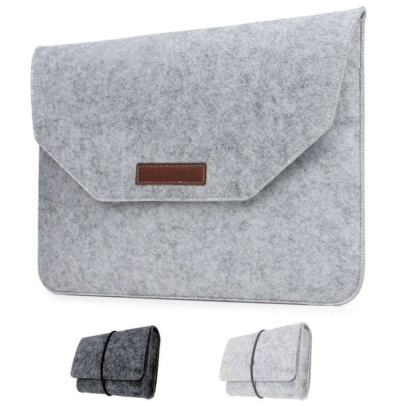 for MacBook Air 13.3 11.6 inch Liner Sleeve Ultra Ligth Cloth Bag Case for MacBook Pro 12 13 14 Retina 12 13 15.6 inch Sleeve-in Laptop Bags & Cases from Computer & Office