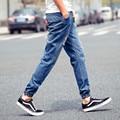 2015 New Arrival mens Stylish ripped Jogger Jeans Skinny biker jeans Denim Pants Plus size XXXL 4XL 5XL Trousers