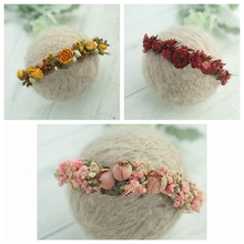 newborn  photography headband headdress with new baby full moon headwear