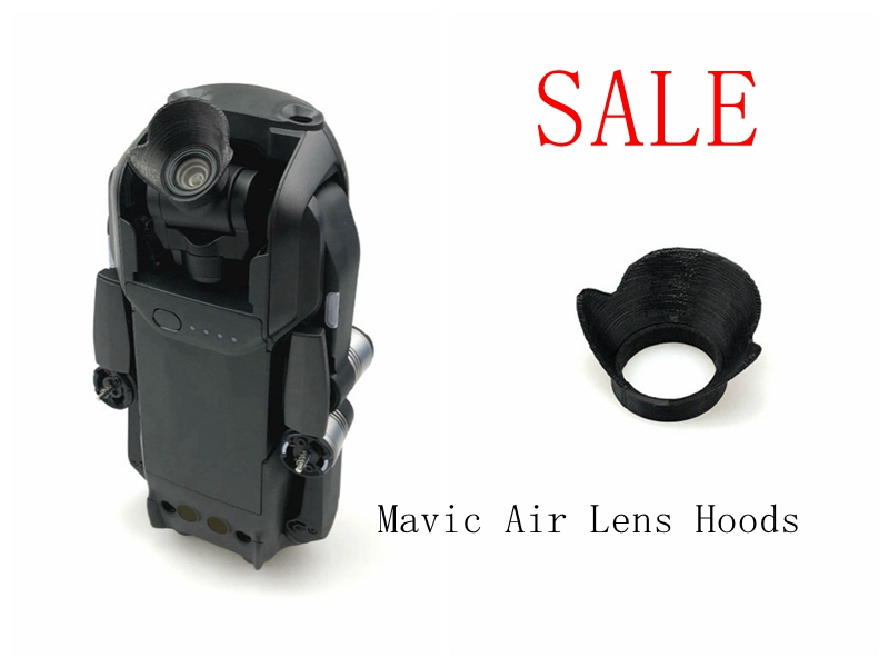 Lens Hoods Mini Camera Cover Anti Glare Sun shade Light Flares Protection Shield Gimbal Protect For Mavic Air Drone Accessories in Camera Lens Hood from Consumer Electronics
