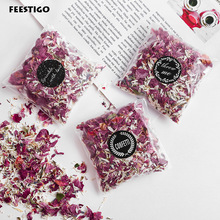 Natural Wedding Confetti Throwing Bags Dried Flower Petals Pops Wedding and Party Decorations Biodegradable Rose Petal Confetti