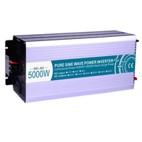 5000W Pure Sine Wave Inverter DC12V/24V/48V To AC110V/220V Off Grid Solar Invertor Voltage Converter For Refrigerator Water Pump