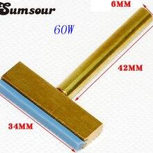 60 Вт медь T паяльник советы с горячим прессом для ЖК-экран Flex кабельный чип Инструменты для ремонта
