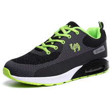 Air Sole Increased Cushion Couple Models Outdoor Shoes Breathable Men Running Shoes Manufacturers Breathable Sport Shoes For Men(China (Mainland))
