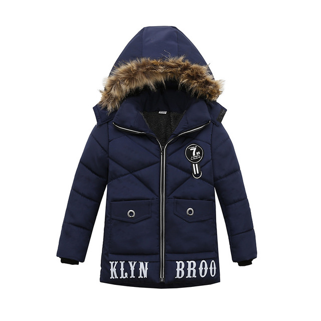 Winter Warm Child Coat Children Outerwear Kids Clothes Windproof Baby Boys Girls Jackets For 2-6 Years Old Outwear & Coats