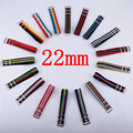 1 unids 22mm Nylon Reloj Banda de La Otan Correa Impermeable Reloj Correa