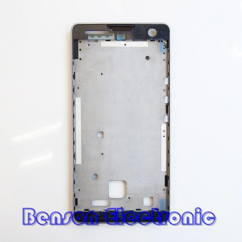 bilder für BaanSam Neue LCD Halterung Bildschirm Frontrahmen Für ZTE nubia Z7 MAX NX505J Gehäuse Mit 3 Mt Klebstoff