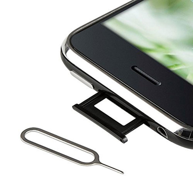 10PCS Sim Card Remover Tray Open Sim Card Eject Tool Sim Pin Key For iPhone XS Max XR X 8 Plus Xiaomi mi 9 Samsung S10 Plus S10+ 5