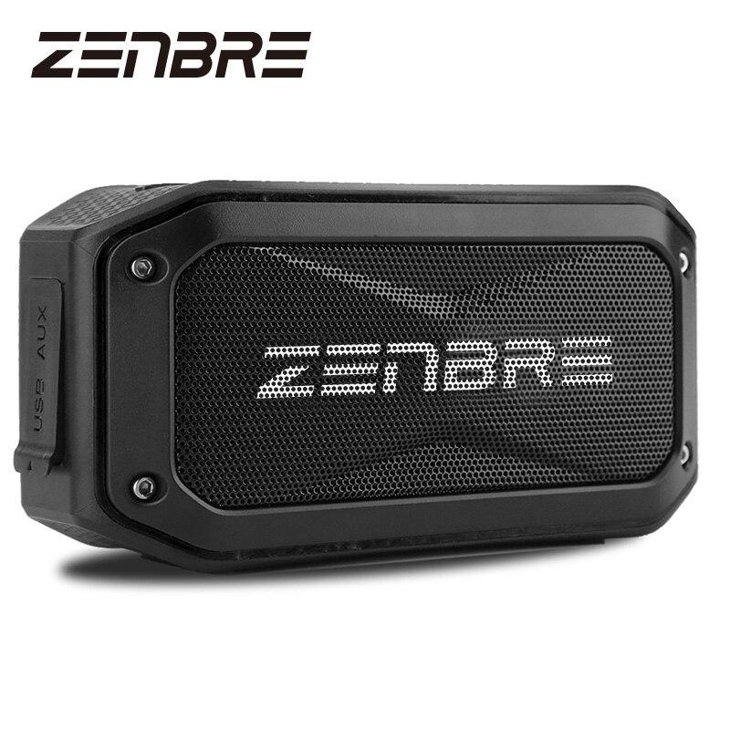 Bluetooth Динамик s, ZENBRE D5 6 Вт/40 h Play-время Беспроводной Динамик, IPX7 Водонепроницаемый/противоударный Портативный Динамик 52 мм Динамик
