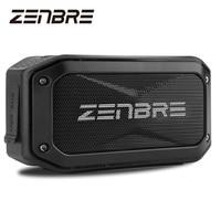 Bluetooth Speakers, ZENBRE D5 6W/40h Play time Wireless Speaker, IPX7 Waterproof / Shockproof Portable Speaker with 52mm Speaker