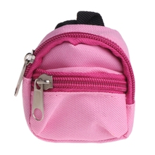 Doll Backpack Bag Accessories Mini Barbie Toys BJD Cute Children Gifts 7 Colors Y51E