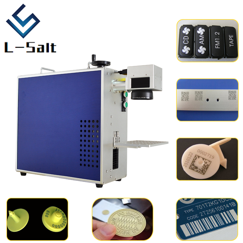 Marking Laser 20W Laser Marking Machine For Plastic Button Precision Effective Marking