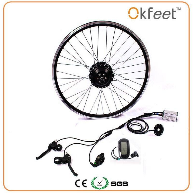 36 v 350 w ebike kit di conversione della bici Elettrica kit motore MXUS di marca senza batteria LED LCD display opzionale 16 /20/24/26/28 g350f