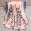 102010 22 colores 180x65 cm 2016 Más Nuevas mujeres de la Moda Bufanda de Seda, Bufanda de La manera, la Seda de las señoras, rectángulo Bufanda