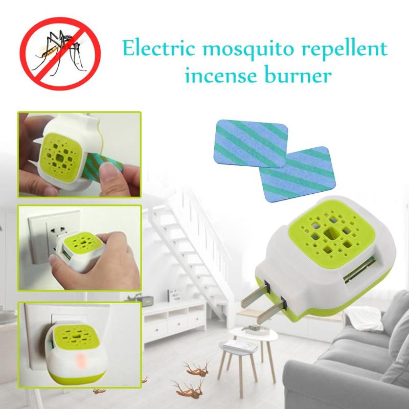 Mosquito Repeller Plastic Electric Flies Repellent Tablets Mosquito Killer Incense Heater Anti Mosquito Pest Repeller Kid