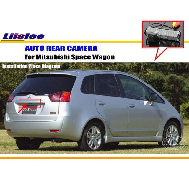 Liislee Auto Rückfahrkamera Für Mitsubishi Colt Plus/Zurück ...
