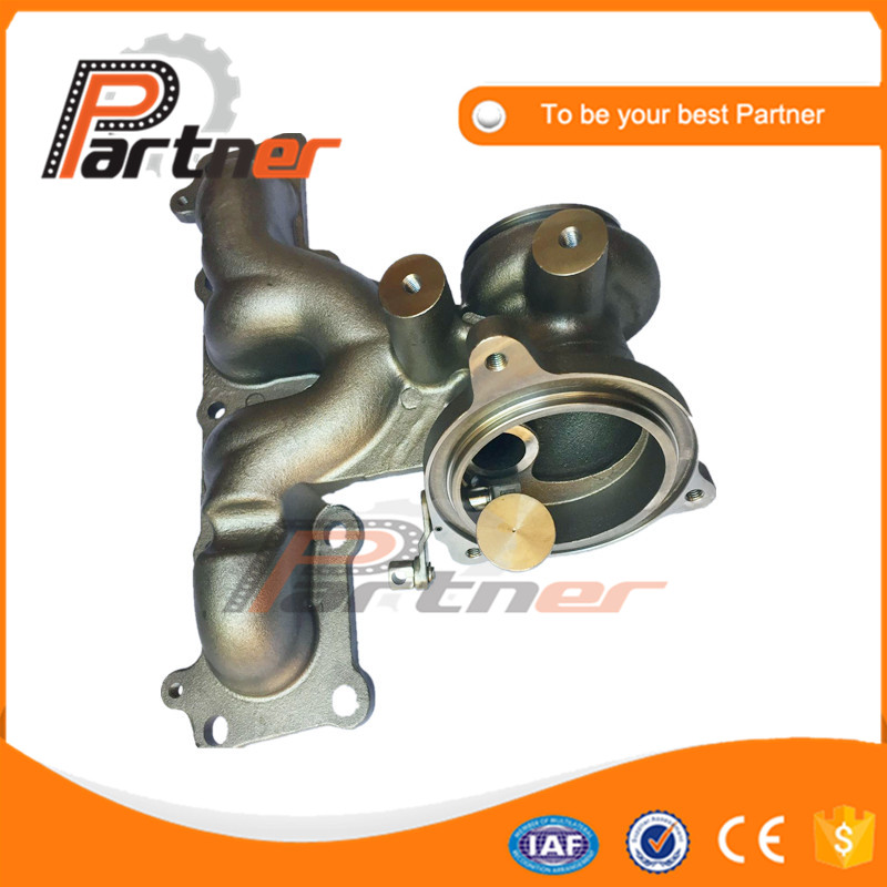 US $110 0 |Exhaust manifold for Ford Mondeo for Land Rover Evoque 2 0 Si4  177 kw Parts 53039880288 53039700288 LR031510 K03 Turbo kit-in Air Intakes