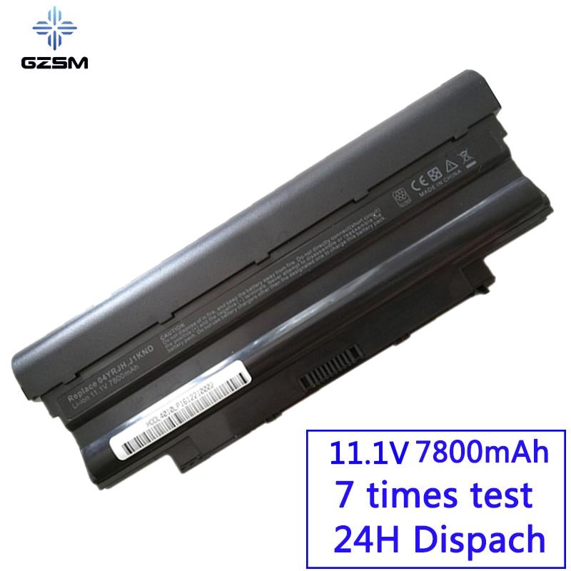 GZSM batterie d'ordinateur portable N4010 J1KND Pour DELL Inspiron 13R 15R 17R batterie pour ordinateur portable N7010 N5110 N7110 N4050 N5110 N3010 batterie