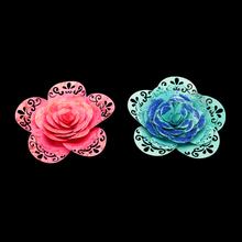 New flower metal cutting dies for DIY scrapbooking albulm photo decorative paper card craft embossing party decoration die cut circle frame metal cutting dies for card making scrapbooking diy albulm photo decorative paper craft die cut new arrival 2019
