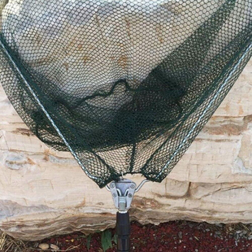 Image 5 - 2019 портативная треугольная Складная рыболовная сеть из алюминиевого сплава, рыболовная сеть, рыболовная снасть, рыболовная снасть rakolovka-in Рыболовная сеть from Спорт и развлечения